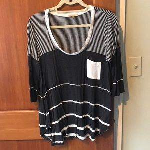 Long sleeve tee from Anthropologie